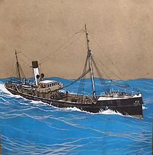 bateau d'autrefois